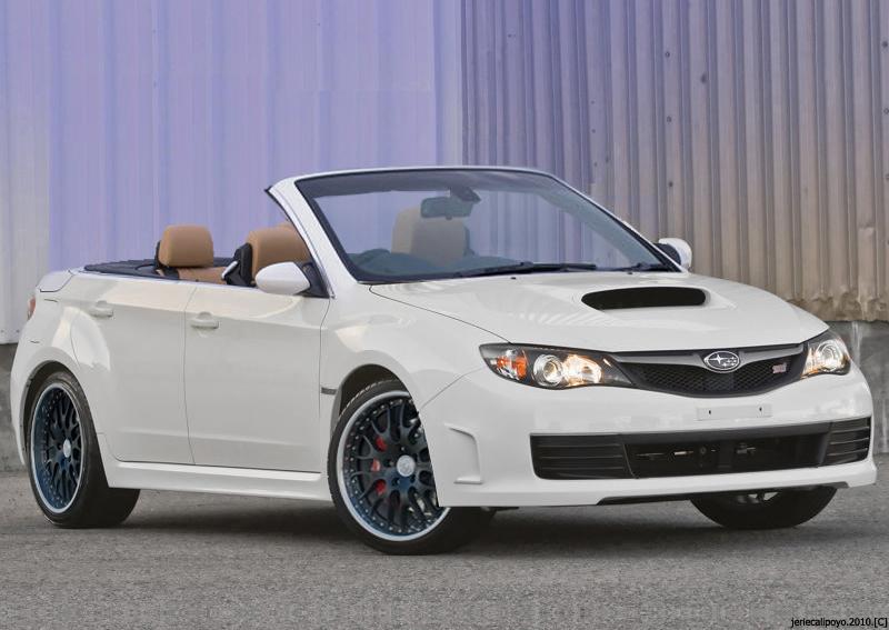 Subaru Wrx Sti Convertible By Ecstatic Enzo
