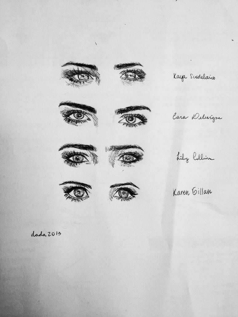 famous eyes by meiranaga on deviantart