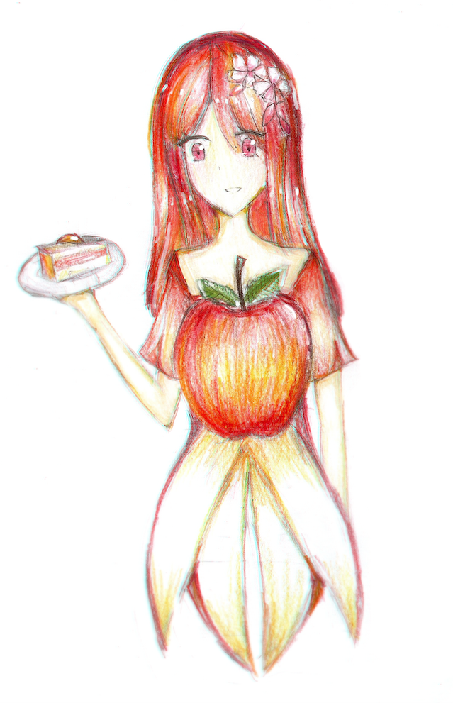 Apple Redraw by Cute-Point-Adopts