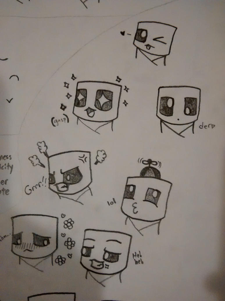 how to draw a creeper head