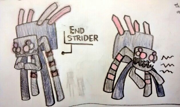 End Strider - mob idea