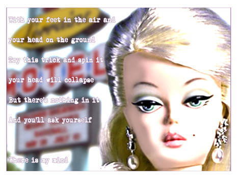 Barbie thinks