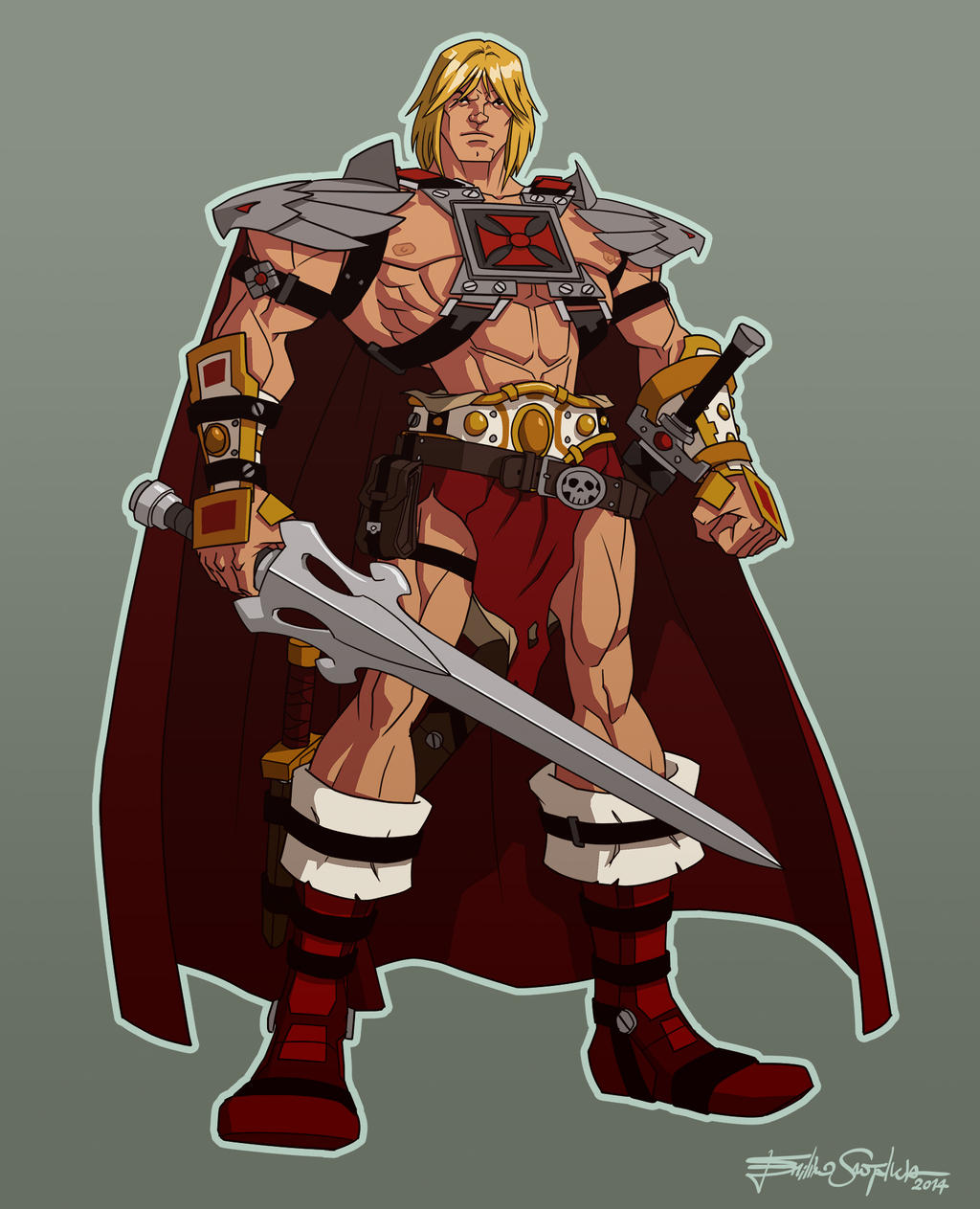 He-Man Reimagined - Extra gear by Santalux
