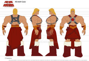 He-Man full model sheet
