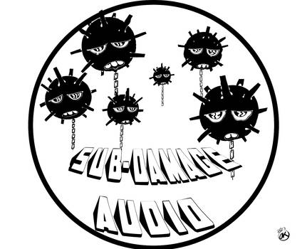 SUB DAMAGE AUDIO logo
