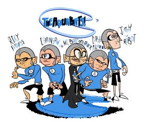 The Aquabats Band Shot.