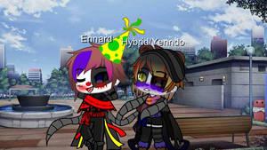 Ennard x Yenndo/Hybrid~ Flirting