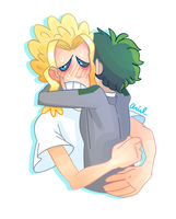 Everything's Going to be All MIGHT by muddyguts