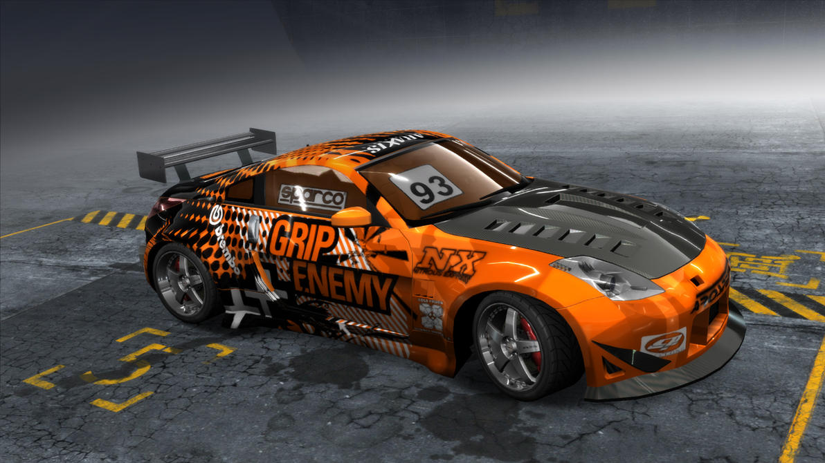 Mazda RX NFSPro Street by evaldasmix on