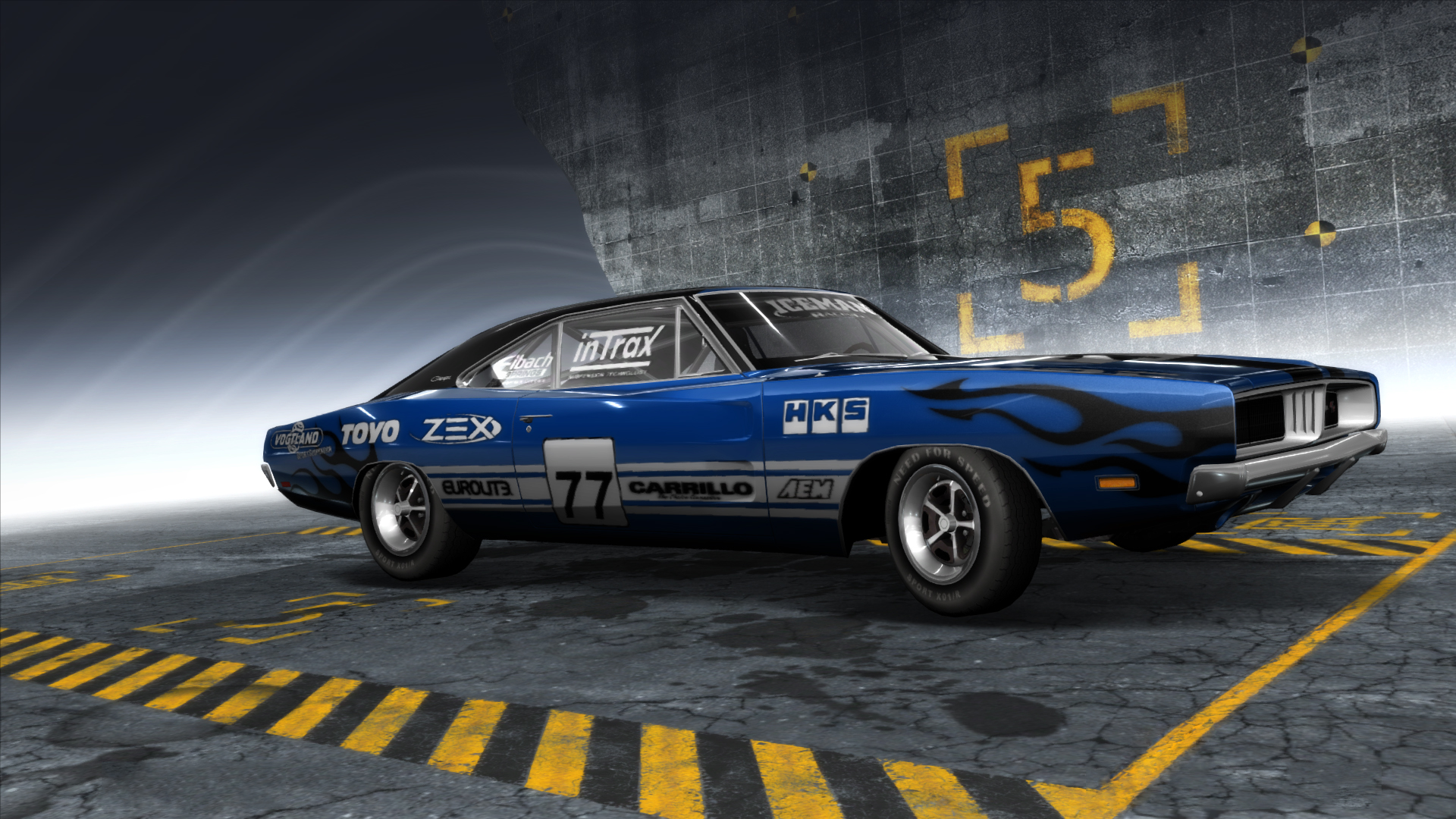 Dodge Charger R T 2 Nfs Pro Street By Evaldasmix On