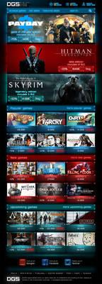 Digital game store