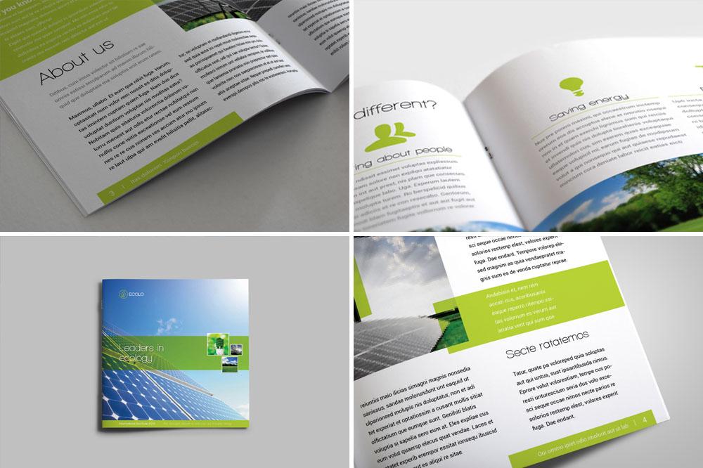 Square Brochure 2 by demorfoza on DeviantArt