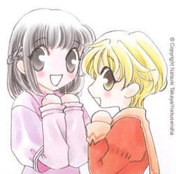 Kagura and Momiji by AZNSH0RTYXx