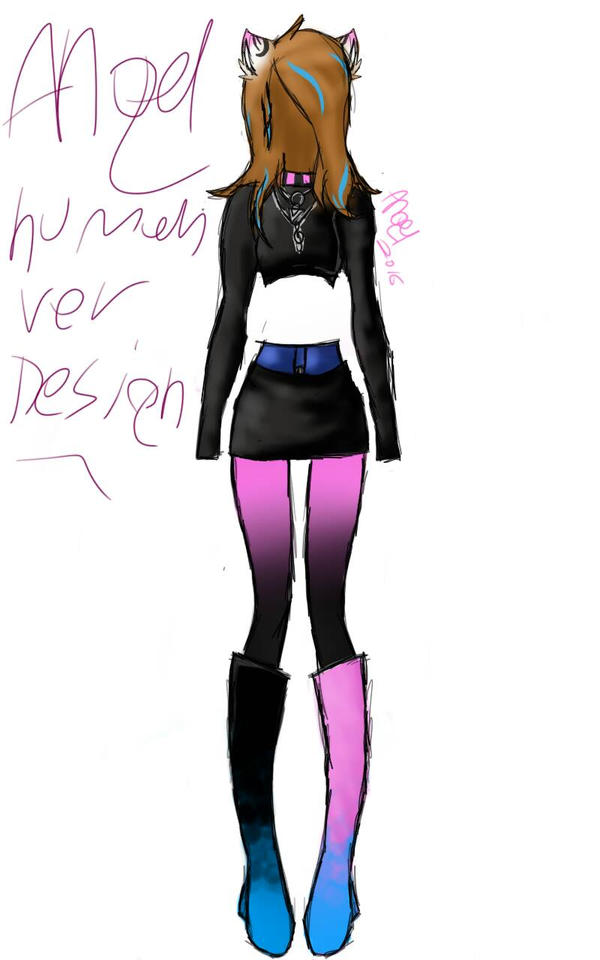 Angel Human Ver design concept by 0AngelBeast0