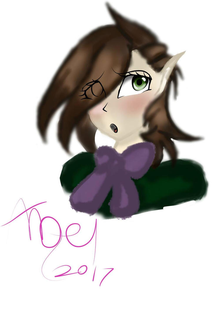 painting attempt (lil elf) by 0AngelBeast0
