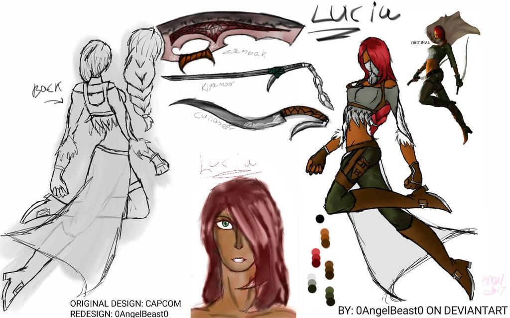 Lucia redesign by 0AngelBeast0