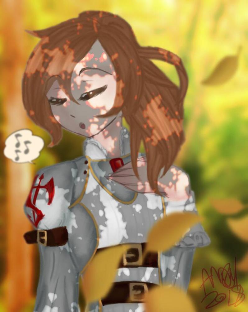 Kyrie art trade by 0AngelBeast0