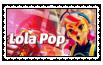 Lola Pop Stamp by JIMBOYKELLY