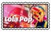 Lola Pop Stamp by JIMBOYKELLY