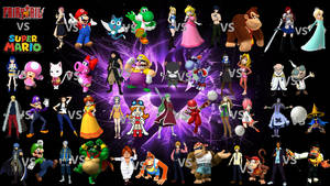 Fairy Tail vs Super Mario