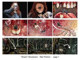 dream storyboard 1