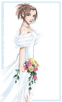 Wedding Yuna doodle by tifachan