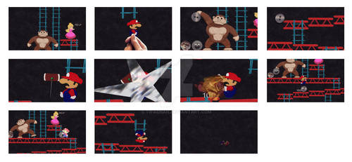 Donkey Kong Animation