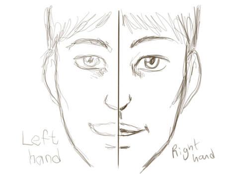Autodesk sketchbooks left hand challenge