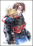 Squall and Zell