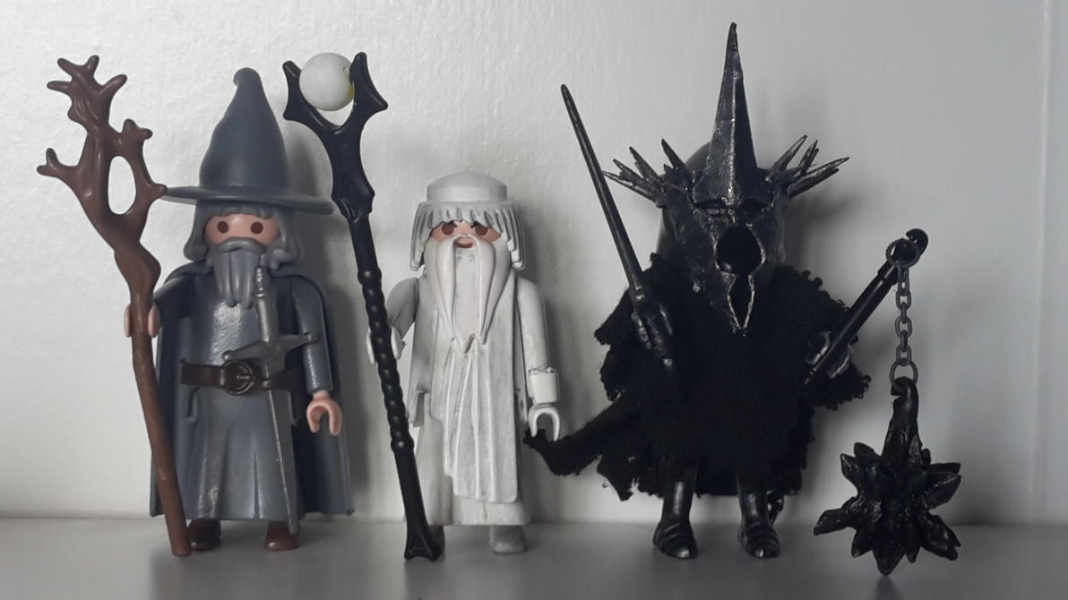 Lord of the Rings: Gandalf, Saruman, Witchking. by marcoc5417 on ...
