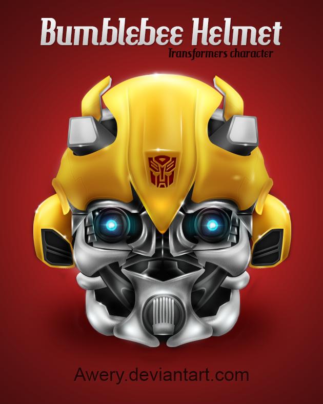 Bumblebee Helmet by Awery