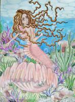 A mermaids world by Liesjebythesea