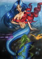 Fishy Friends by Liesjebythesea