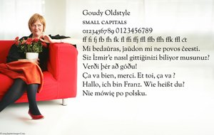 Goudy Oldstyle by typoholics