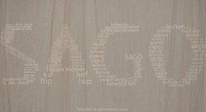 sago typography by typoholics