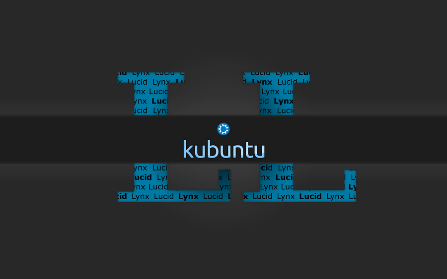 kubuntu wallpaper. Kubuntu Lucid Lynx Wallpaper