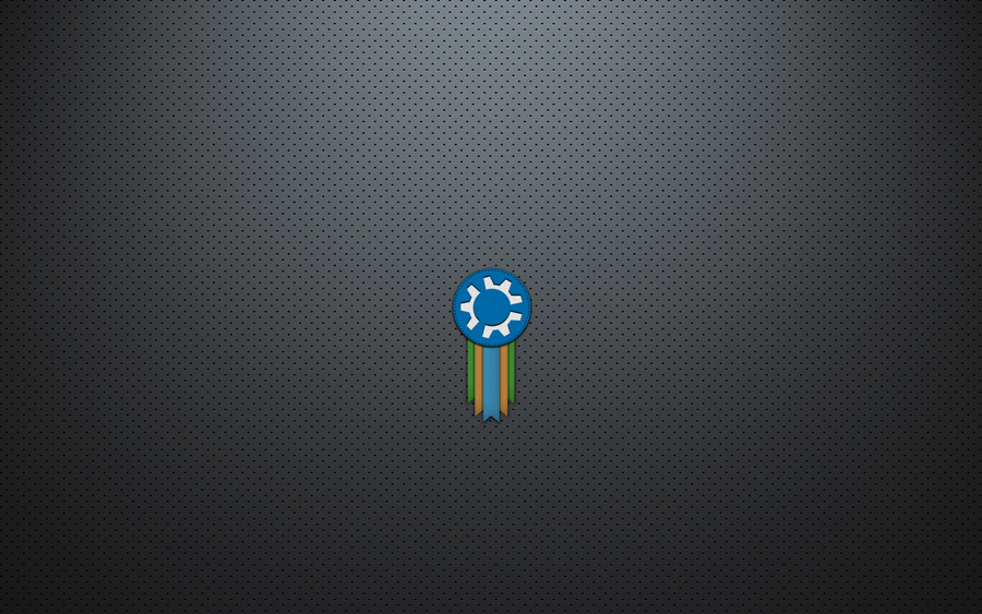 Kubuntu Minimalistic Wallpaper by thales-img