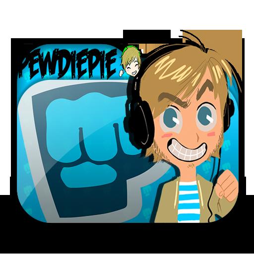 Special pewdiepie folder icon by saiyansaga on deviantart - Pewdiepie icon ...