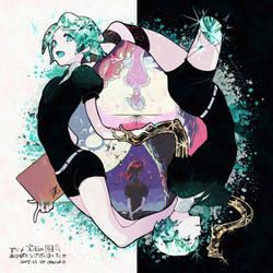 Thank you for Animation houseki no kuni !! by Wanomura