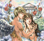 eros and psyche color-finished
