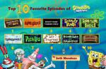 Top 10 de mis Episodios Favoritos de Bob Esponja