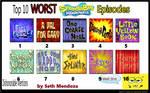 Top 10 Peores Episodios de Bob Esponja segun yo