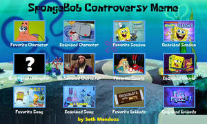 SpongeBob Controversy Meme (Updated)