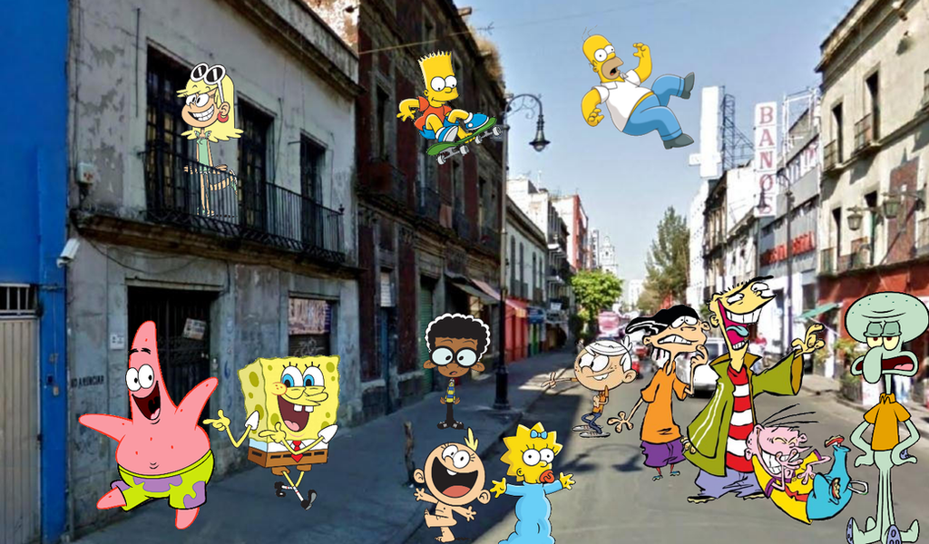 Bob, Loud, Simpson y Eddy by sethmendozaDA