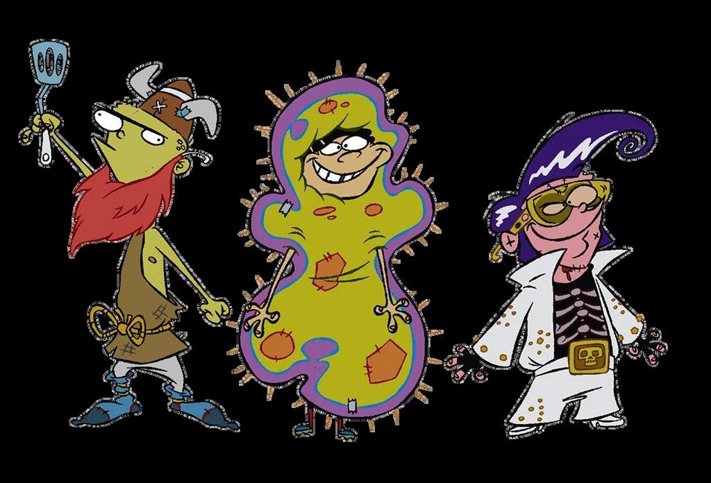 Ed, Edd n Eddy (with Halloween Costumes) by sethmendozaDA ...