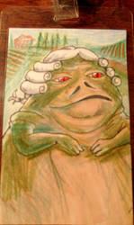 Jabba the Hut by LuckyBonecutter