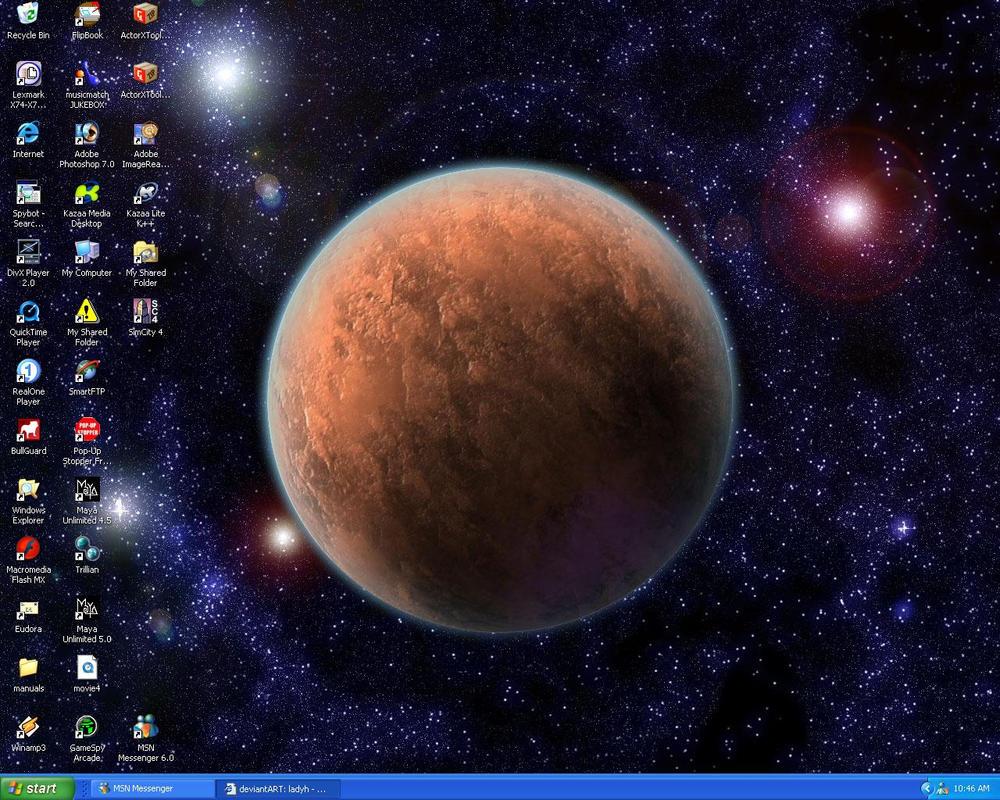 my desktop by ladyh