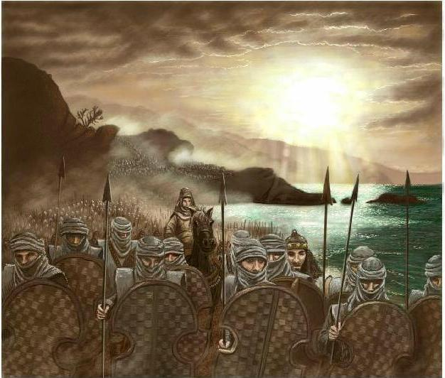 The battle of Thermopylae... by Scorpina on DeviantArt