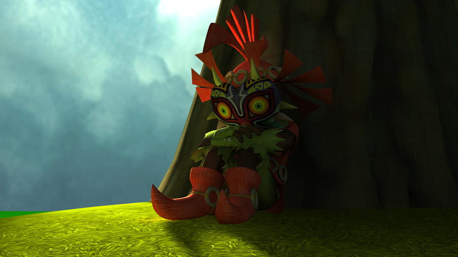 3D Skull Kid Update 2 By Allan30