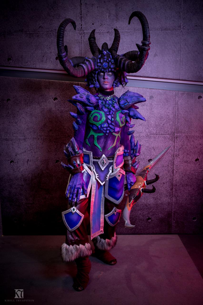 Wow night elf cosplay